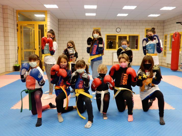 Imágenes del Club Kickboxing de Soria./ Fotos: Daniel Crovetto
