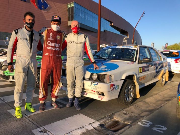 Foto 1 - Agustín Álvaro suma y sigue: gana el rally gallego Da Agua en la categoría de históricos