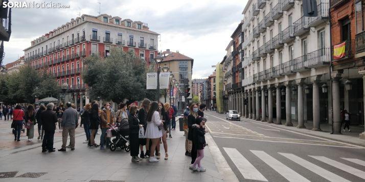Valladolid, una de las provincias que podría quedarse atrás en la desescalada.