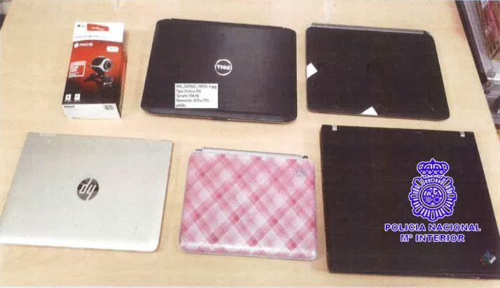 Foto 1 - Detenido por robo con fuerza en una tienda informática de Valladolid
