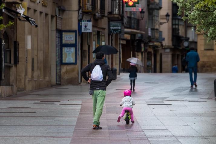 Al cole en bici o en patinete: Soria realiza un proyecto piloto la próxima semana