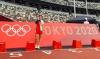 Marta Pérez en el Estadio Olímpico.