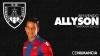 Foto 1 - El delantero brasileño Allyson, nuevo jugador del Numancia
