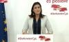 """Foto 1 - Ana Sánchez: """"Los socialistas servimos a Castilla y León, la derecha se sirve de Castilla y León""""."""