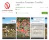 Foto 1 - Castilla y León contará con una aplicación gratuita con información sobre incendios forestales