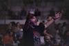 Un joven este verano en un concierto en la provincia de Soria. Viksar Fotografía