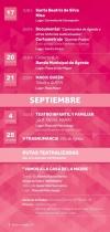 Actividades en Ágreda durante el mes de septiembre.