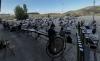 La Banda, en el ensayo ayer en el aparcamiento de Los Pajaritos. /Ayto.