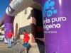Recepción de material deportivo por la Diputación Provincial.