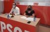 Ángel Hernández y Judith Villar durante la rueda de prensa.