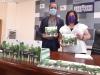 Benito Serrano y Eva Muñoz presentan el III Plan Provincial sobre Adicciones.
