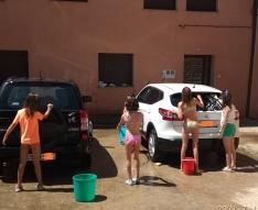Jornada de 'trabajo' de los niños de Montejo de Tiermes.