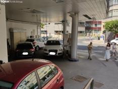 Nuevo y curioso aparcamiento en Soria.