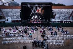 Una imagen del concierto de esta noche en Almazám. /Viksar Fotógrafo