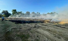 Una imagen de las labores de extinción en Sotillo. /GE