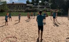 El campamento del BM Soria: Del San Andrés hasta la 'playa'