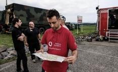 Bravo, durante su labor en el país germano. /JV