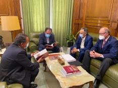 Visita del Pleno del Consejo de Cuentas a la Diputación de Soria.