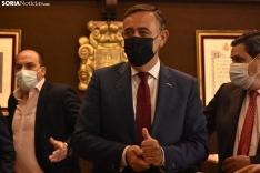 Antonio Pardo es el nuevo alcalde de El Burgo de Osma.