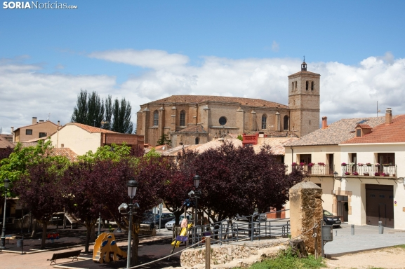 Un San Cristóbal diferente en Berlanga de Duero
