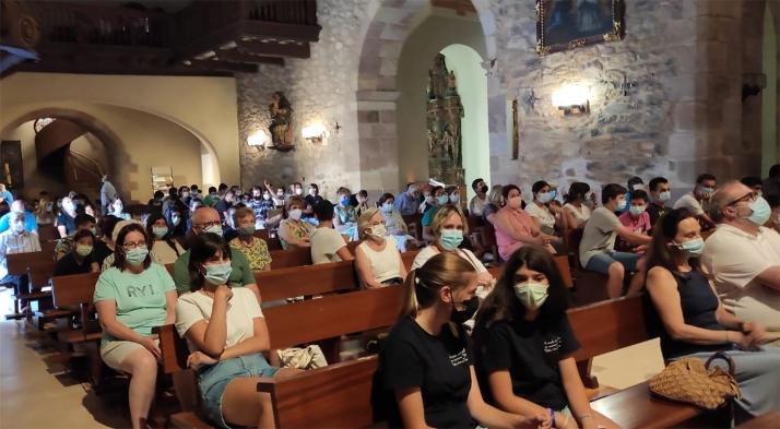 Centenares de jóvenes visitan en peregrinación el Arciprestazgo de  Ágreda