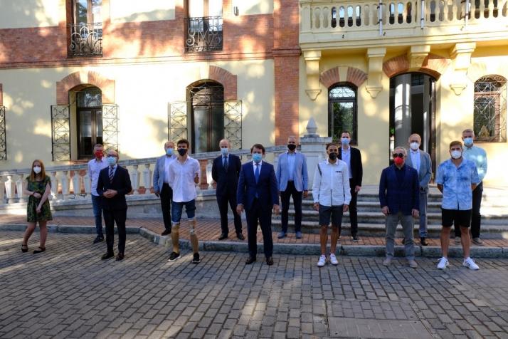Foto 1 - Mañueco destaca que los Olímpicos son los mejores embajadores del deporte y la imagen de Castilla y León