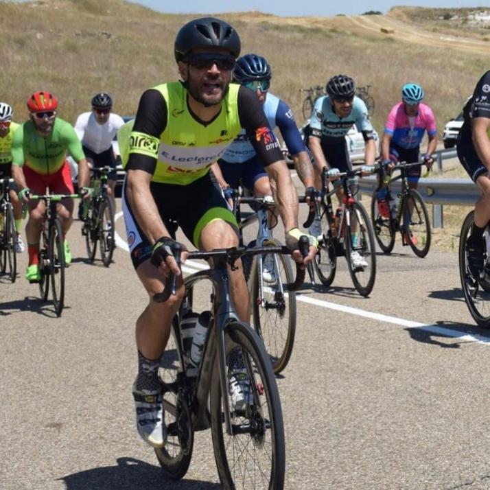 Foto 2 - E. Leclerc Soria Equipo Ciclista cosecha una buena actuación en el Campeonato de España Máster