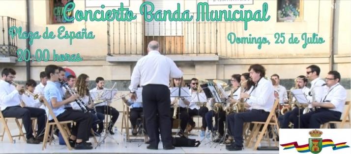 Esta tarde, concierto de la Banda de Ólvega