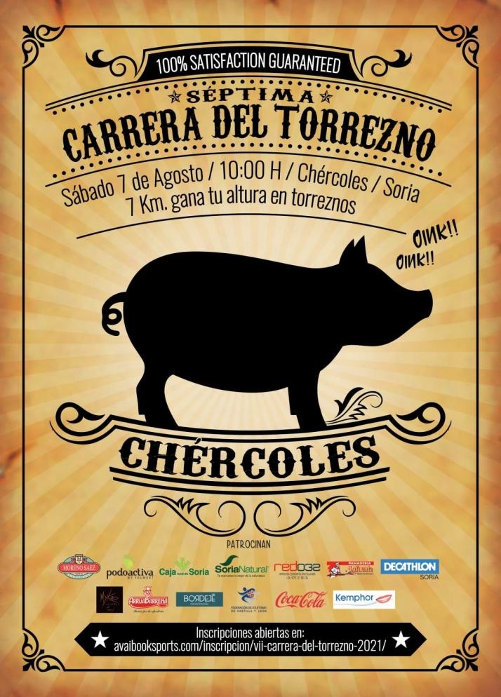 Chércoles vuelve a organizar la VII Carrera del Torrezno el 7 de agosto