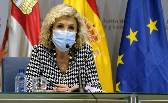 Castilla y León 'toca techo' en la quinta ola pero avisa que 'el descenso será más lento'