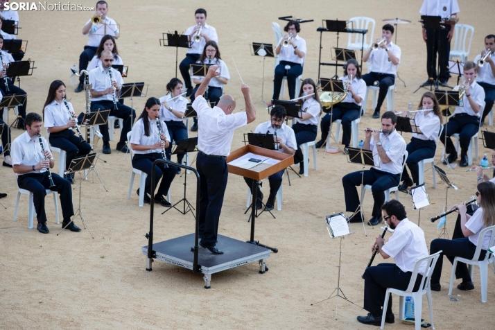 Foto 1 - Suspendido el concierto del miércoles de la Banda Musical de Soria por Covid