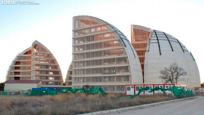 Cúpulas de la Energía, en el PEMA de Garray.