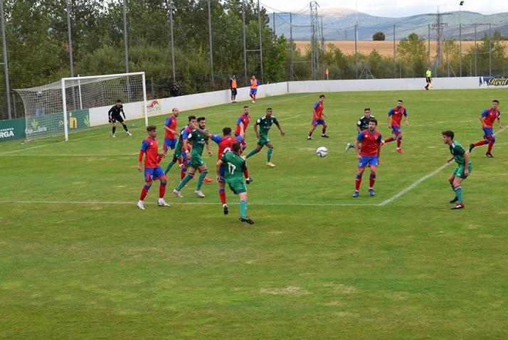 El Numancia cae derrotado 1-3 ante el Osasuna B