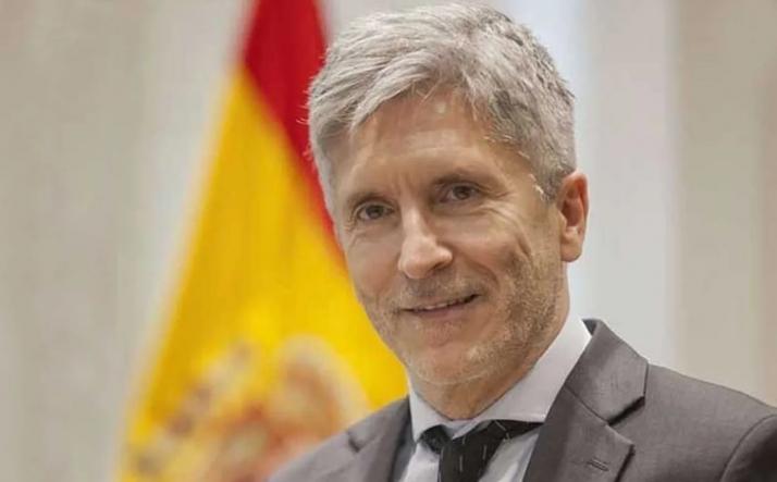 Fernando Grande-Marlaska en una imagen de archivo.