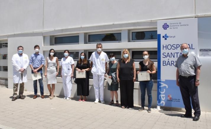 Foto 1 - La Gerencia de asistencia sanitaria de Soria entrega los premios de investigación 2020