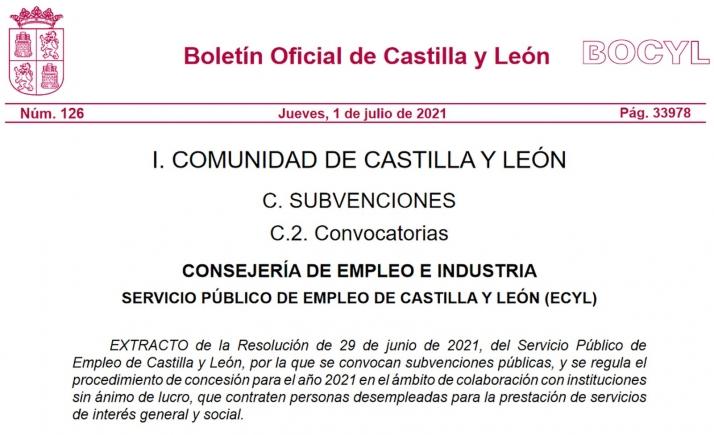 Foto 1 - Salen las ayudas regionales para la contratación de desempleados en las entidades sin ánimo de lucro