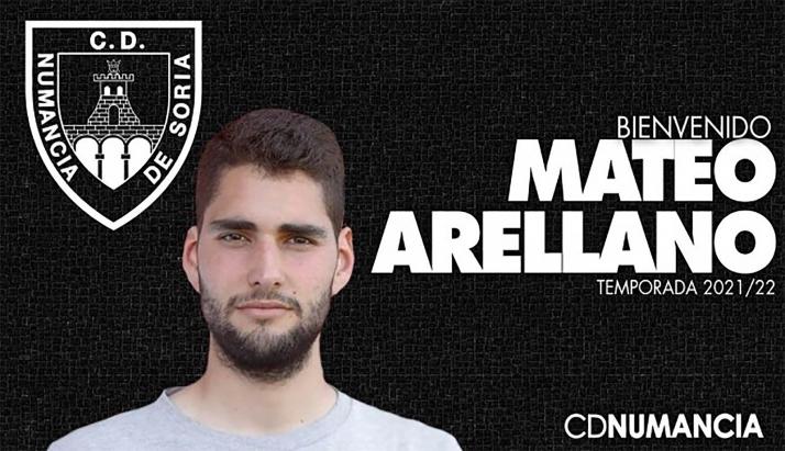 Foto 1 - El Numancia contará con Mateo Arellano esta temporada