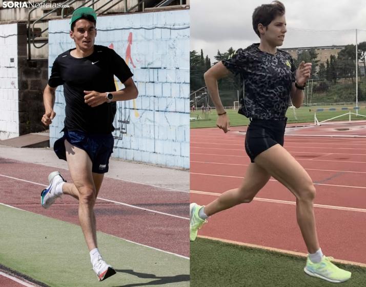 Foto 1 - Dani Mateo y Marta Pérez correrán sin público en los Juegos Olímpicos de Tokio