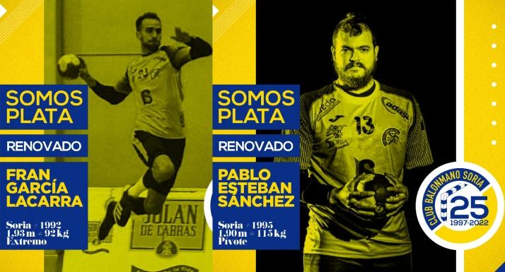 Foto 1 - Fran García y Pablo Sánchez siguen de amarillo