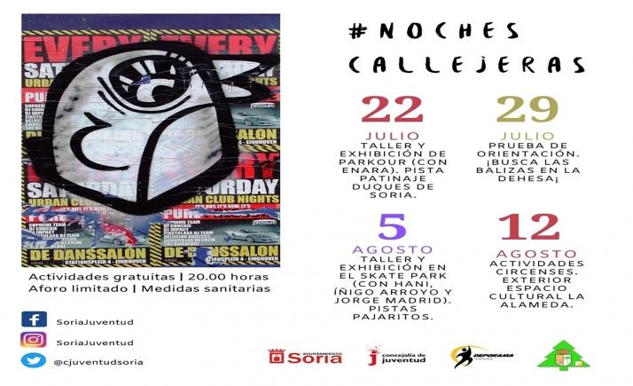 Foto 1 - Ya se conoce el calendario de Noches Callejeras