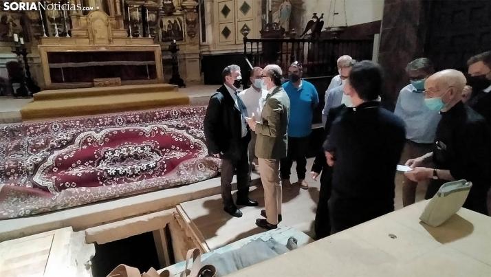 Concluyen las obras de restauración de la crujía norte de la Colegiata de Medinaceli con una inversión cercana a los 400.000 euros