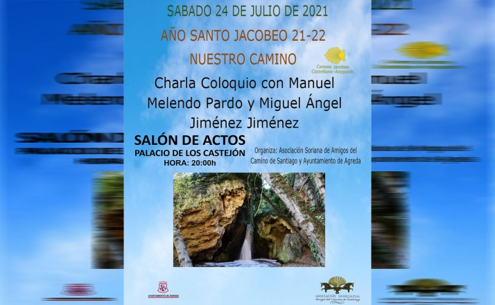 Charla sobre el Camino de Santiago el sábado en Ágreda