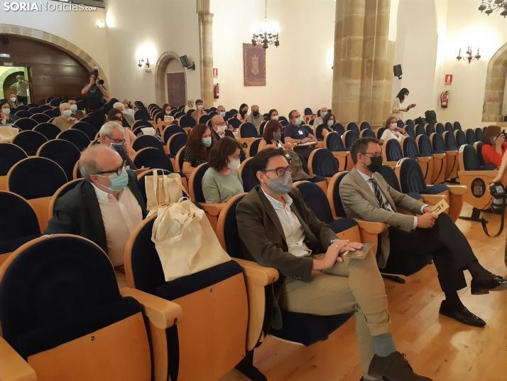 Inauguración del encuentro 'José Jiménez Lozano o la libertad de la escritura'.