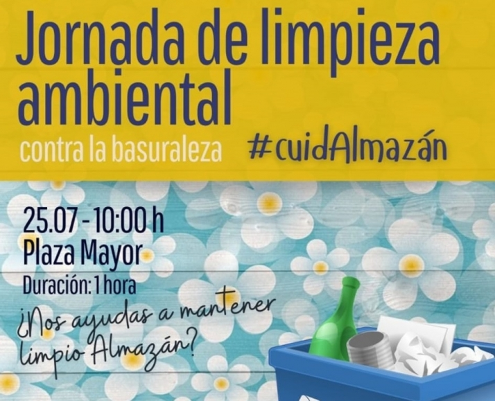 Los adnamantinos se mueven bajo el hashtag #cuidAlmazán