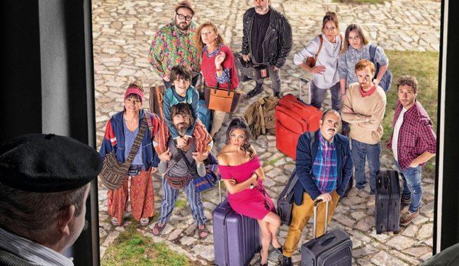 La serie 'El Pueblo' se vuelca con la revista de Sarnago
