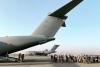 Los colaboradores afganos a su llegada a España.