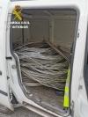 Foto 1 - Dos detenidos en León por robo con fuerza en una nave industrial