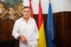 Antonio Pardo en el Ayuntamiento de El Burgo de Osma. /María Ferrer