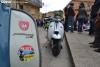 Imagen de una concentración de Lambretta en Soria.