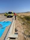 Foto 2 - Una fallecida y un herido grave en un accidente en Buberos